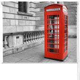 Red London phone box Printed Picture Photo Roller Blind - RB264 - Art Fever - Art Fever