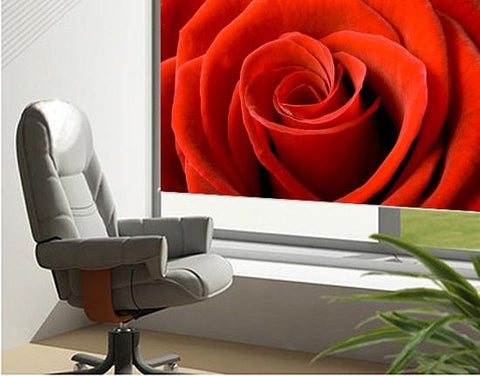 Red rose floral close up Printed Picture Photo Roller Blind - RB150 - Art Fever - Art Fever