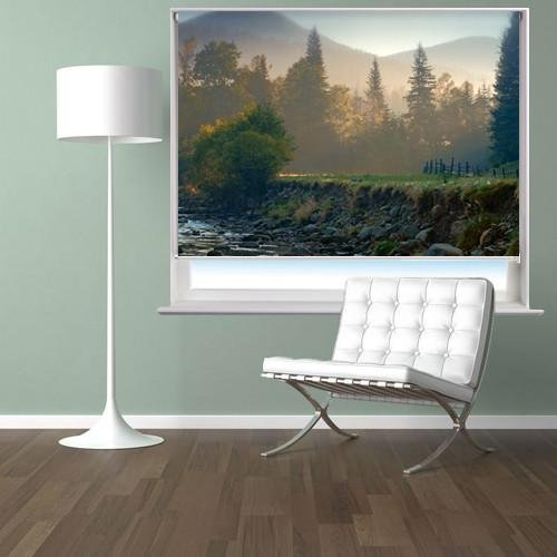 Riverbed In Morning Light Printed Picture Photo Roller Blind - RB101 - Art Fever - Art Fever