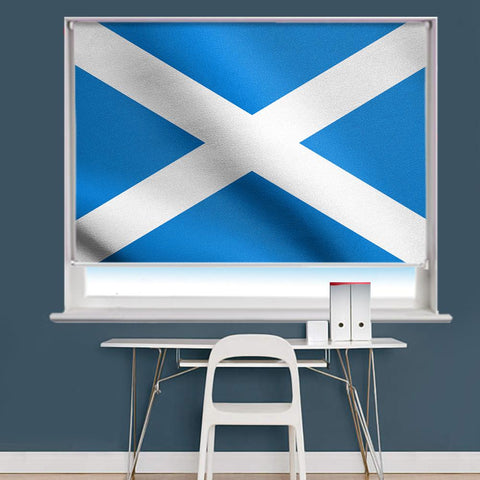 Scotland Flag Printed Picture Roller Blind - RB760 - Art Fever - Art Fever
