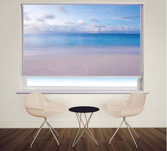Sea View Printed Photo Picture Roller Blind - RB331 - Art Fever - Art Fever