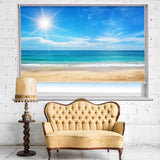 Seascape and Sun Printed Photo Picture Roller Blind - RB501 - Art Fever - Art Fever
