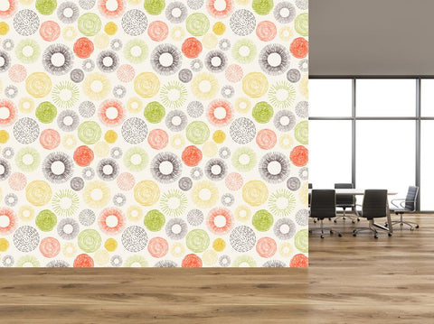 Self Adhesive Wallpaper - WM642 - Art Fever - Art Fever