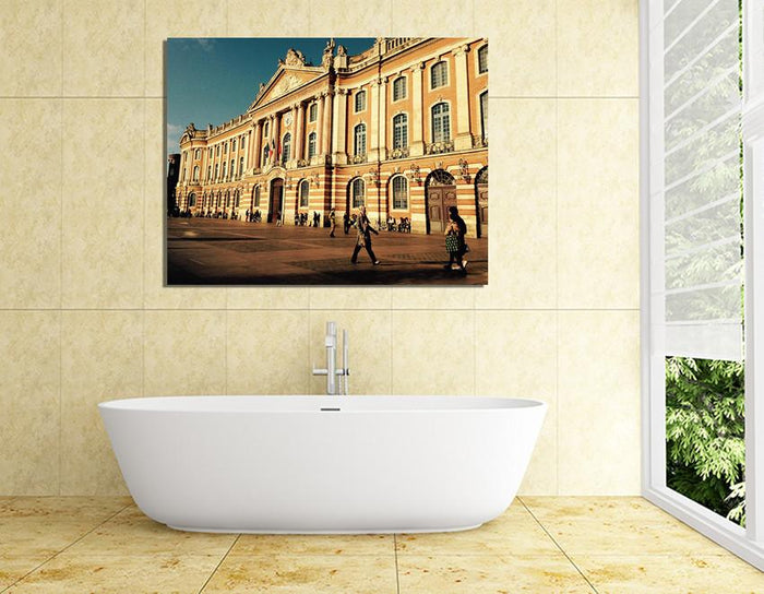 SH10 - Canvas Print Wall Art of Toulouse, France - Art Fever - Art Fever