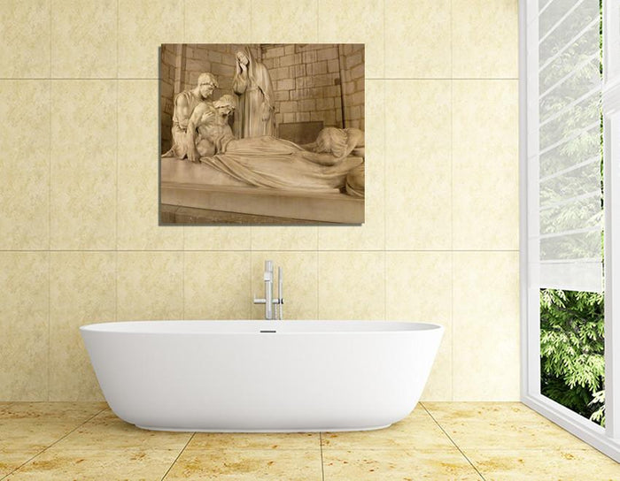 SH5 - Delivered from the Crucifixion Canvas Print Wall Art - Art Fever - Art Fever