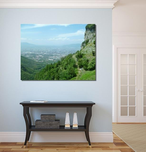 SH9 - The View from The Châteaux de Lastours Canvas Print Wall Art - Art Fever - Art Fever