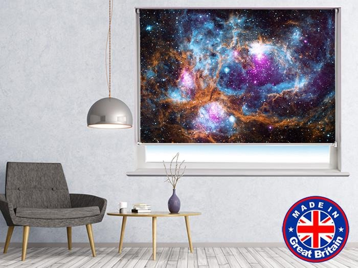 Space Image of the Lobster Nebula Printed Picture Photo Roller Blind - RB548 - Art Fever - Art Fever