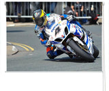 Super bike racing Printed Picture Photo Roller Blind - RB311 - Art Fever - Art Fever