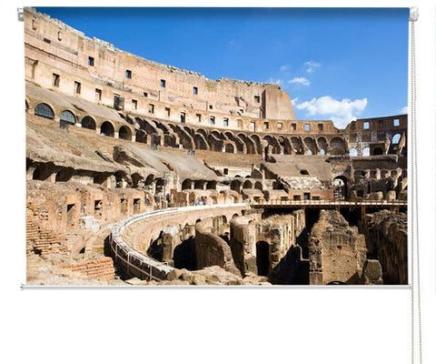 The ancient Colosseum Printed Picture Photo Roller Blind - RB291 - Art Fever - Art Fever