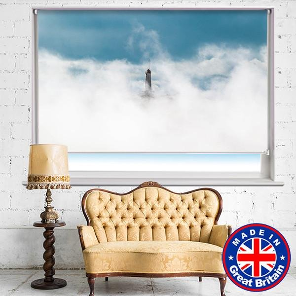 The Lonely Lighthouse Printed Picture Photo Roller Blind - RB563 - Art Fever - Art Fever