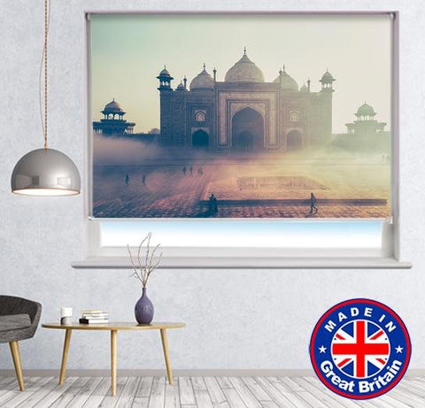 The Taj Mahal in fog Photo Printed Picture Roller Blind - RB578 - Art Fever - Art Fever