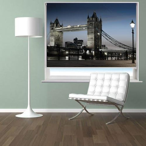 The Tower Bridge In London Motion Printed Picture Photo Roller Blind - RB271 - Art Fever - Art Fever