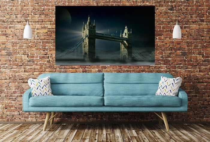 Tower Bridge In London Image Printed Onto A Single Panel Canvas - SPC28 - Art Fever - Art Fever