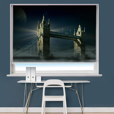 Tower Bridge In London Printed Picture Roller Blind - RB740 - Art Fever - Art Fever