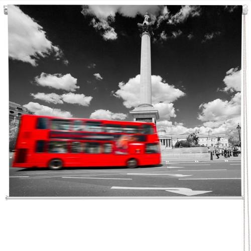 Trafalgar Square In London Roller Blinds Printed Picture