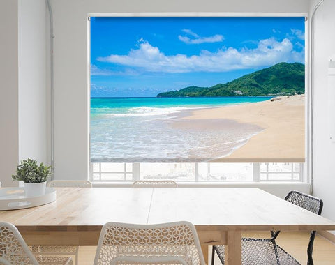 Tropical Paradise Island Printed Picture Photo Roller Blind - RB570 - Art Fever - Art Fever