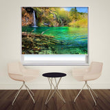 Tropical River Printed Picture Photo Roller Blind - RB106 - Art Fever - Art Fever