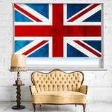 Union Jack British Flag Printed Picture Photo Roller Blind - RB656 - Art Fever - Art Fever