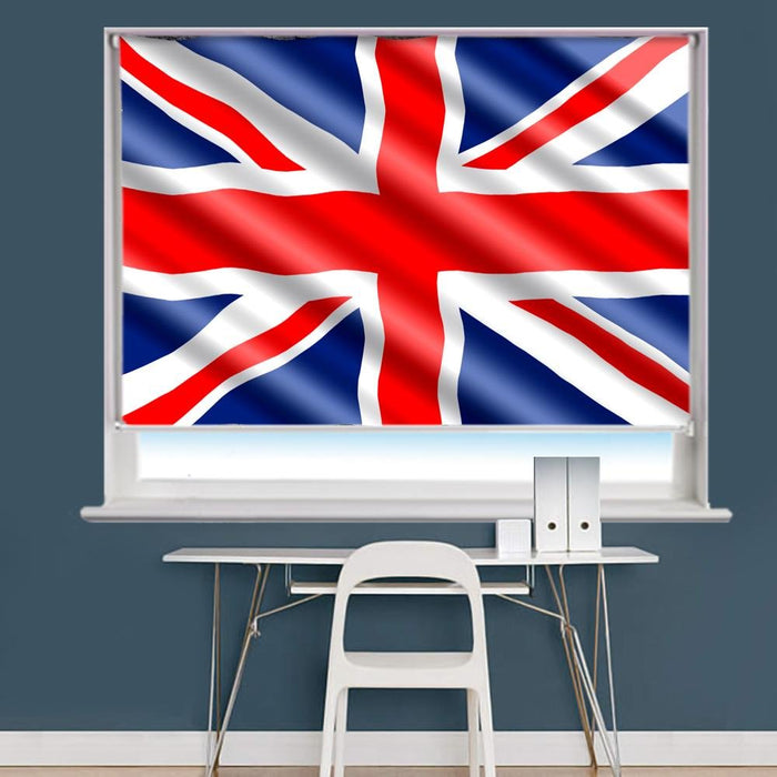 United Kingdom Flag Printed Picture Roller Blind - RB751 - Art Fever - Art Fever