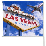 Welcome To las Vegas Printed Picture Photo Roller Blind - RB92 - Art Fever - Art Fever