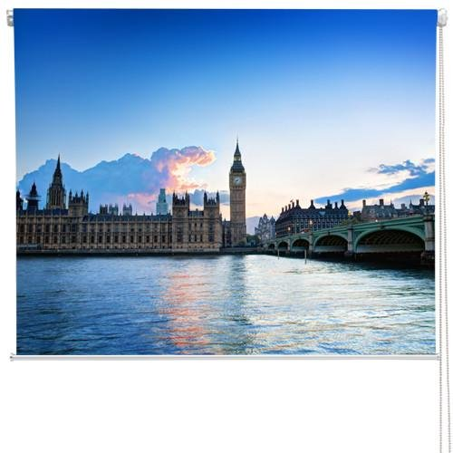 London Westminster At Sunset Printed Picture Roller