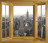 wim174 - New York City skyline view - Window illusion view - Art Fever - Art Fever