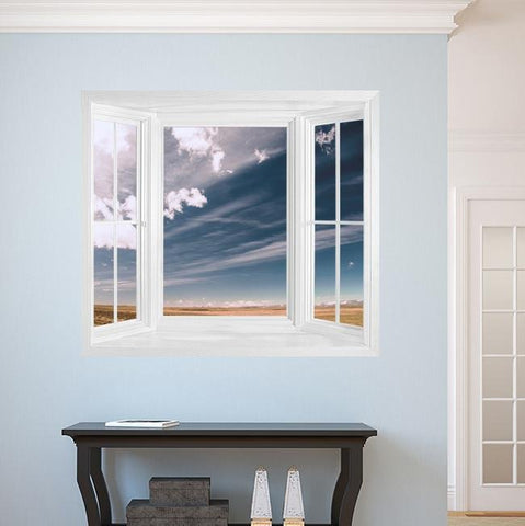 WIM273 - window frame view of a beautiful landscape - Art Fever - Art Fever