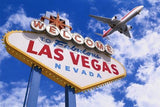 WM101 - WELCOME TO VEGAS PHOTO WALL MURAL - Art Fever - Art Fever