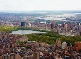 WM196 - AERIAL VIEW OF NEW YORK CITY AND CENTRAL PARK PHOTO WALL MURAL - Art Fever - Art Fever