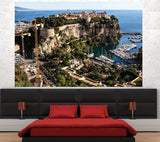 WM204 - THE PRINCE'S PALACE OF MONACO WALL MURAL - Art Fever - Art Fever