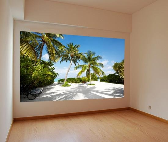 WM209 - SANDY PATH TO THE BEACH WALL MURAL - Art Fever - Art Fever