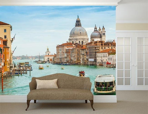 WM269 - The Venice Wall Mural - Art Fever - Art Fever