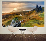 wm435 - Landscape over Scotland photo Wall Mural - Art Fever - Art Fever