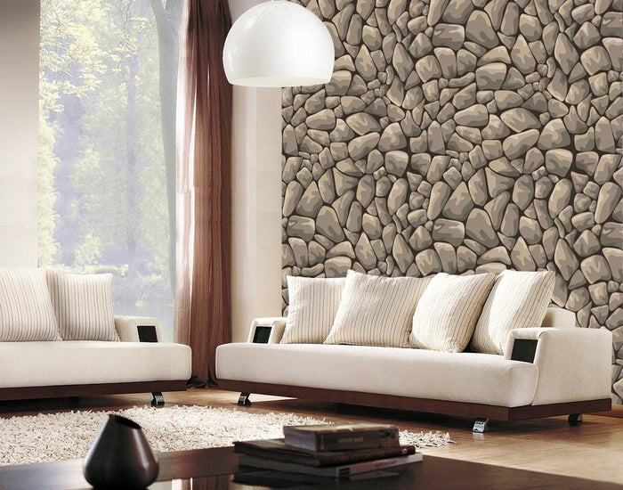WM560 - Seamless Rock Stone Design Wallpaper | Self Adhesive Wallpaper Rolls - Art Fever - Art Fever