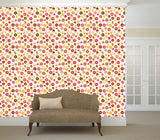 WM571 - Seamless donut and cupcakes Effect Wallpaper | Self Adhesive Wallpaper Rolls - Art Fever - Art Fever