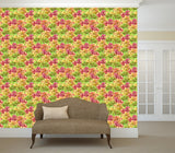 WM573 - assorted doughnuts with different toppings Wallpaper | Self Adhesive Wallpaper Rolls - Art Fever - Art Fever