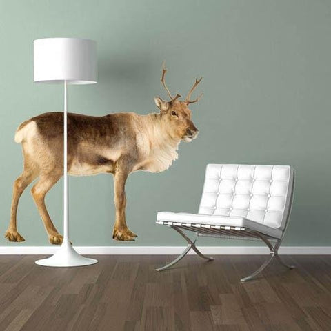 wsd132 - large deer stag set removable wall stickers - Art Fever - Art Fever