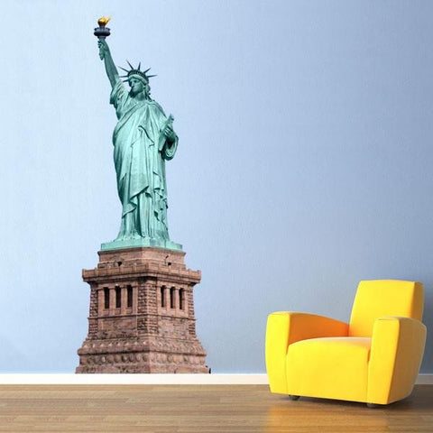 WSD59 - The Statue of Liberty Wall Sticker - Art Fever - Art Fever