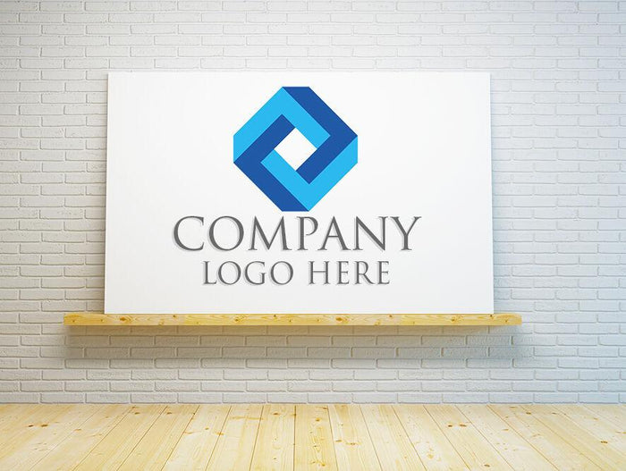 Your Company Business Logo Printed Canvas Print Picture - SPC174 - Art Fever - Art Fever