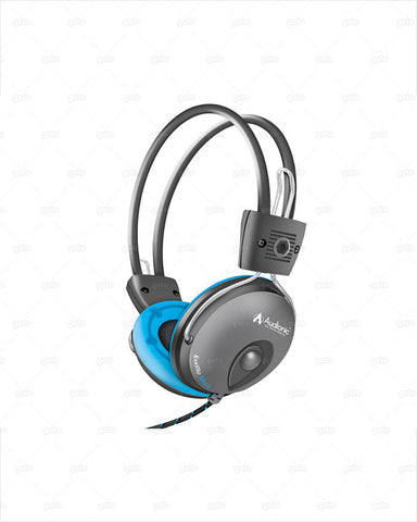 Audionic - Music Note MN668 Head Phones - Blue