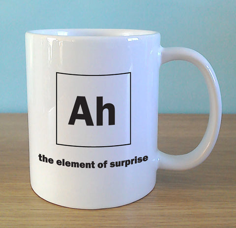 Ah - the element of surprise - MugWow