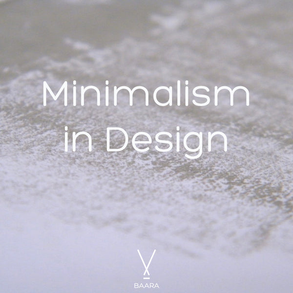 Minimalism in Design, by Baara Guggenheim of BAARA Jewelry