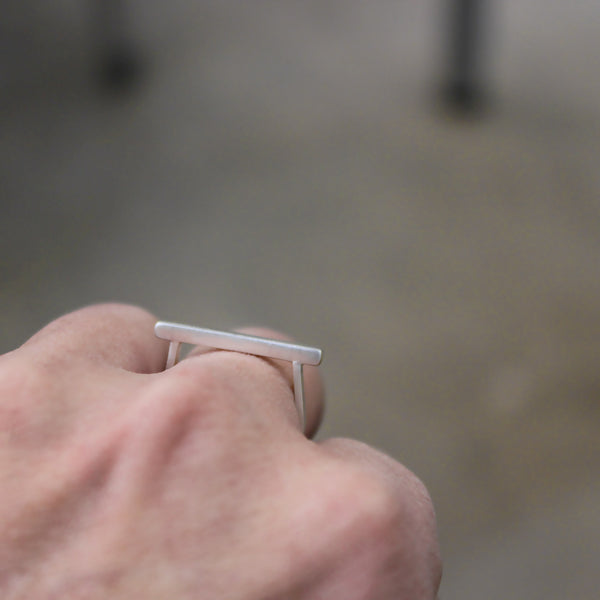 Stacking Line Ring