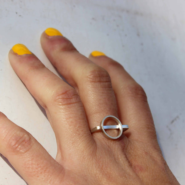 Circle on Square Ring