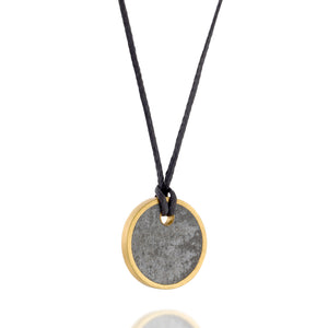 Small Unisex Circle Necklace