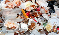 Reducing plastic catering waste