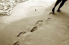 Leave nothing but footprints in the sand - becoming more eco-friendly