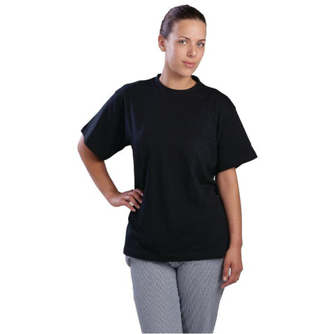 Unisex T-Shirt Black XL