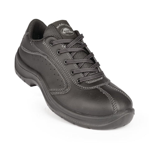Lites Side Perforated Lace Up Black 46