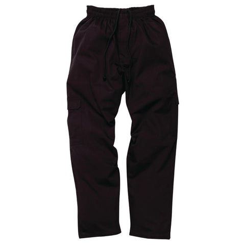 Chef Works Mens J54 Cargo Trousers Black 2XL